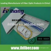 Fábrica montada en bastidor de tipo rotatorio de fibra óptica caja de terminales