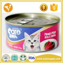 Buenas ventas Halal comida enlatada para gato