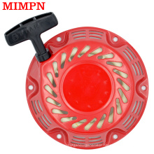 154F Gasoline Generator Spare Parts Recoil Starter Replacement Engine Pull Pate Assembly