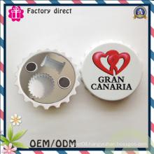New Design Multifunction Cap Shape Magnetic Bottle Opener Wall