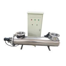 Equipos de desinfección y purificación de agua, líquidos y aguas residuales con luz ultravioleta