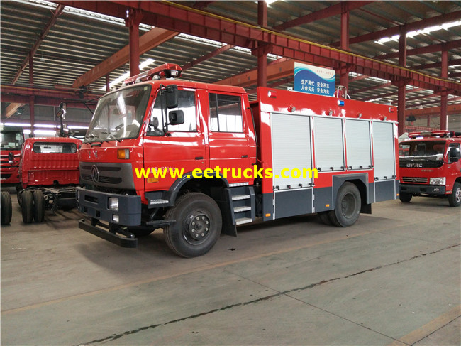 4x2 Forest Fire Fighting Trucks