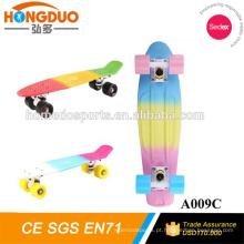 Scooter elétrico de skate com roda de 4 rodas