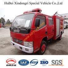 Camión de bomberos de espuma 4ton Dongfeng Duolika EQ1060glj Euro3