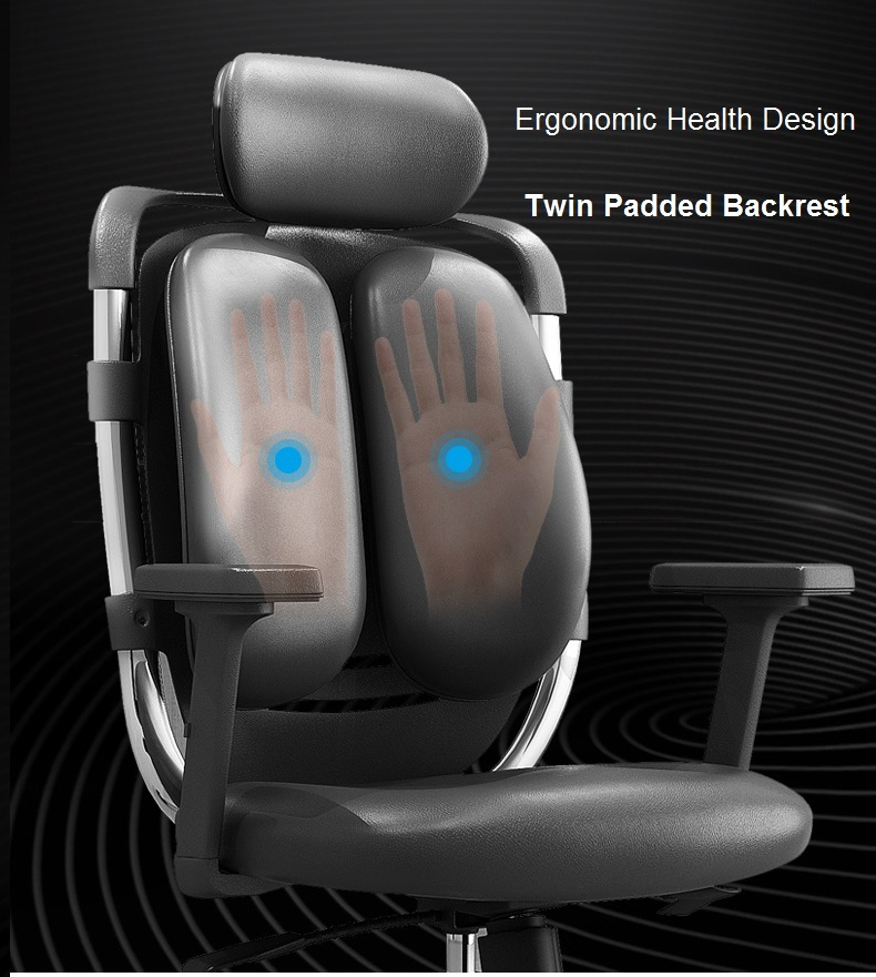 Health Design for Twin Padded Backrest