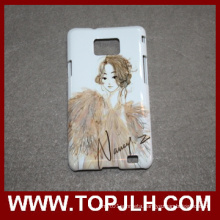 Sublimation Customized Plastic Mobile Phone Case for Samsung Galaxy S2