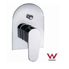 Montagem na parede sanitárias banho de latão e misturador de banho (HD581)