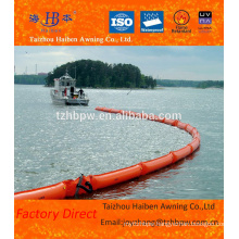 Waterproof PVC Tarpaulin Inflatable Fabric PVC For Oil Boom
