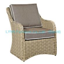 American Modern Design Single Wicker Sofa Garden Furniture