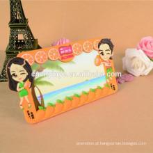 Pvc macio de moda personalizado barato sensual molduras papel