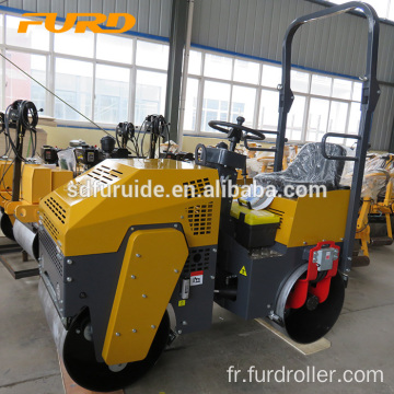 1000kg Mini Driving Vibration Road Roller with Free Parts Fyl-880