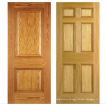 Timber Door Design Internal Solid Panel Wooden Doors