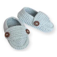 Handmade Crochet Enfant Baby Boy Girl Flip Flop Chaussettes Chaussettes Chaussures