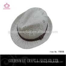 Gestrickte Frau Winter Hut Hand gestrickte Hut Fedora Hüte für Mädchen