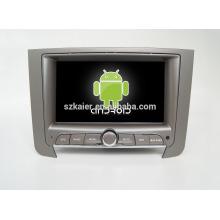 Quad core! Dvd do carro com link espelho / DVR / TPMS / OBD2 para 7 polegadas tela sensível ao toque quad core 4.4 Android sistema Ssangyong Rexton
