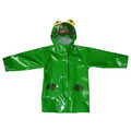 PU kids raincoat