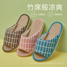 Летние льняные сандалии Тапочки
