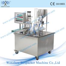 Máquina automática de enchimento e selagem de líquidos de Yougurt Cup com Ce