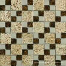 Top Quality of Glass Mosaic Tile with Saso (AJL-AJ10)