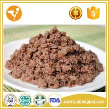 Comida de gato de atum fresco Comida de gato saborosa e saudável Molhada
