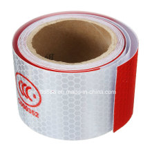 3m White/Red Reflective Safety Warning Conspicuity Tape with CCC