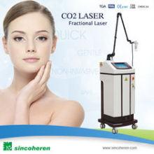 Facial CO2 Fractional Laser Machine Tubo de RF USA Orginal para quitar cicatrices quirúrgicas, queratosis actínica Cicatrices del acné Belleza de la máquina