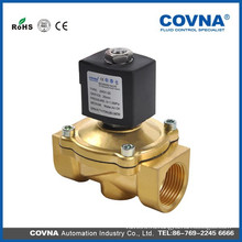 2/2 прямого подъема диафрагмы NC латунный клапан, DC12V, 24V, 36V AC24V, 120V, 240V / 60Hz; 110V, 220V / 50Hz соленоидный клапан