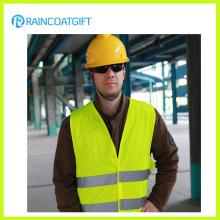 Gilet de sécurité réfléchissant en différentes couleurs, fait de 120GSM Ployester tricot