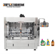 multifunctional liquid filling machine for shampoo/hand sanitizer/yogurt/cooking oil with high quality for Manufacturing Plant