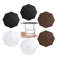 Пищевые антипылевые силиконовые крышки для зонтиков