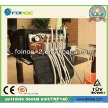 Unité dentaire portative mobile portable approuvée CE (modèle: FNP140)