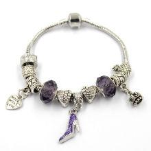 Metal Crystsl Beads Fashion Bracelet with Clasp