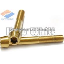 Gr5 titanium screw DIN912-taper headed