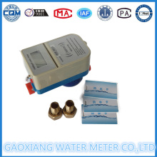 Medidor de água elétrico pré-pago com cartão IC sem contato Dn15-Dn25