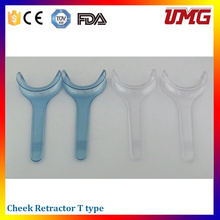 Dentist Materials T Type Transparent Intraoral Cheek Retractor