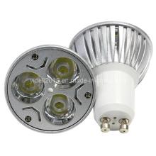 Nouveau Dimmable 3 * 3W LED ampoule GU10 Spotlight plafonnier Lampen