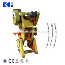 Galvanized concertina razor wire machine