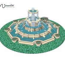 2018 hochwertige moderne Garten Marmor Wasserbrunnen zu verkaufen