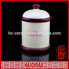 Super weiße Porzellan Keramik Kosmetik Gläser