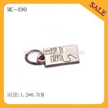 MC490 2015 nouveaux pendentifs en or pour bijoux, étiquettes de marque de bijoux