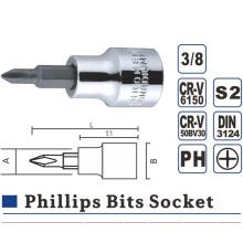 Phillips Hex Slotted Torx Bit Socket