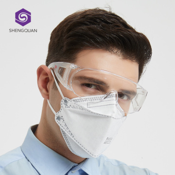Masque facial jetable de protection du travail FFP2 en stock