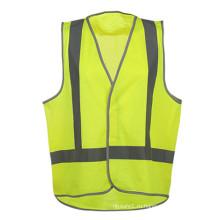 Горячая продажа 100% полиэстер трикотажный светоотражающий жилет безопасности