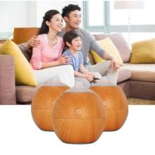2018 130ml Wooden Aroma Diffuser Air Creative Humidifier