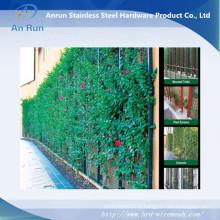 L'usine professionnelle a fait une clôture de fil décorative de haute qualité bon marché