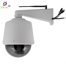 Cámara al aire libre del CCD del IP WiFi de la cacerola / de la inclinación sin hilos del zoom óptico 27X (IP-510HW)