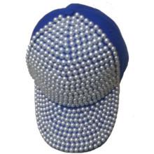 Béisbol promoción baratos buena calidad diamante tapa gorro ajustable de remache deportes