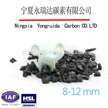 Manufacturer nut shell activated charcoal for h2s removal