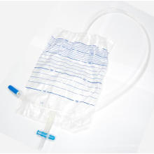 Bolsa de drenaje de orina desechable para suministro quirúrgico