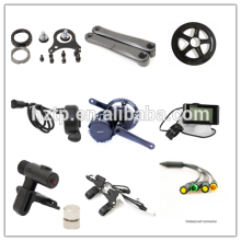 2017 easy assemble diy e- bike conversion kit Bafang BBS01 250W mid drive motor kit